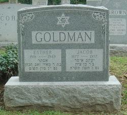 Mrs Esther <i>Shapiro</i> Goldman