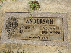 Velma Elizabeth <i>Blakemore</i> Anderson