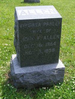 Virginia Parlee <i>Castle</i> Allen