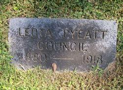 Leota <i>Pyeatt</i> Council