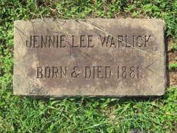 Jennie Lee Warlick