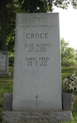 Helen June <i>Morris</i> Croce