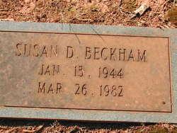 Susan <i>Dixon</i> Beckham