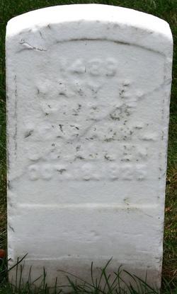 Mary E. <i>Berford</i> Allen