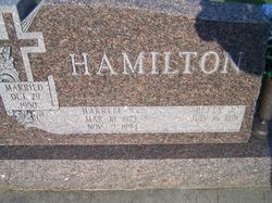 Harrell W Hamilton