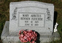 Mary A <i>Hennen</i> Fletcher