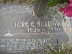 June E Allison