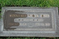 Winnifred Rhoda <i>Bremmer</i> Jones