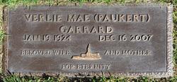 Verlie Mae <i>Paukert</i> Garrard