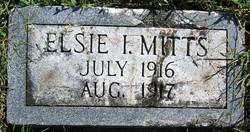 Elsie I Mitts