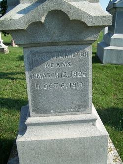 Nancy <i>Hamilton</i> Adams