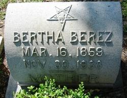 Bertha <i>Cantor</i> Berez