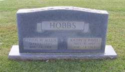 Connie <i>Hobbs</i> Allen