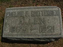 Emeline Frisbie <i>Chittenden</i> Allen