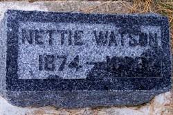 Josephine Ornettie Nettie <i>Parks</i> Watson