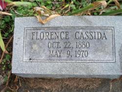 Florence <i>Welty</i> Cassida