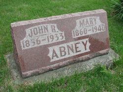 Mary <i>Rodman</i> Abney