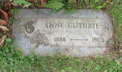 Anne <i>Gnass</i> Guthrie