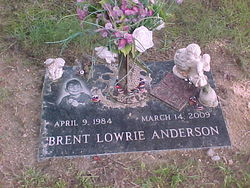 Brent Lowrie Anderson