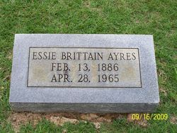 Essie Amanda <i>Brittain</i> Ayres
