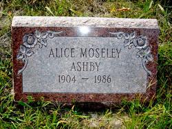 Alice <i>Moseley</i> Ashby