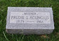 Pruella M. Prudie <i>Scott</i> Acuncius
