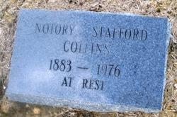 Notory <i>Stafford</i> Collins