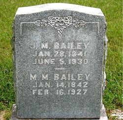 Mary M. <i>Baines</i> Bailey