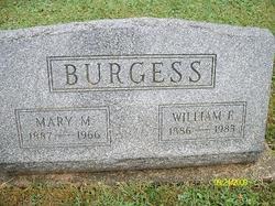 William F Burgess
