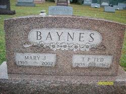 Mary J Baynes