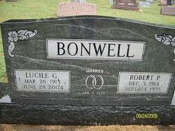 Lucile Amanda <i>Gentry</i> Bonwell