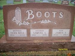James S Boots
