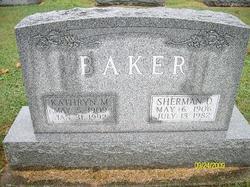 Sherman D Baker