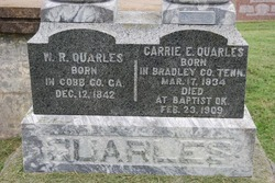 Caroline Elizabeth Carrie <i>Bushyhead</i> Quarles