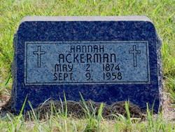 Hannah Ackerman