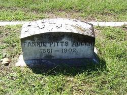 Fannie <i>Pitts</i> Allen