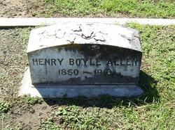 Henry Boyle Allen, Sr