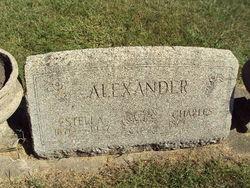 Estella <i>Taylor</i> Alexander