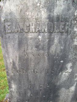 Ephraim Albert Chandler