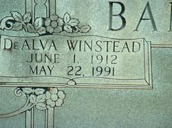 De Alva Aunt De <i>Winstead</i> Banker