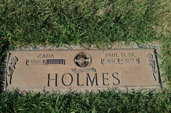 Zada Alfretta <i>Smith</i> Holmes