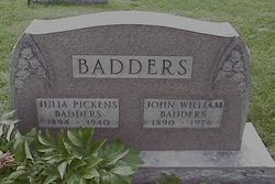 Julia <i>Pickens</i> Badders