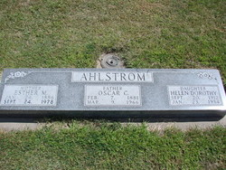 Helen Dorothy Ahlstrom