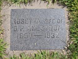 Rosetta <i>Wilburn</i> Ahlstrom