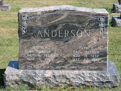 Alma Amanda J. <i>Nelson</i> Anderson