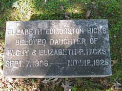 Elizabeth Anne <i>Pumphrey</i> Hicks