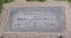 Mary Theresa <i>Domet</i> Adimey