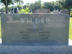 Edith Mary <i>Bamrick</i> Wilder