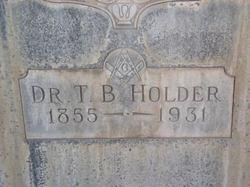 Thomas Bledsoe Holder, Dr