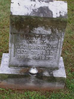 Mattie Elizabeth <i>Gibson</i> Barnett